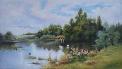 Picturi cu peisaje Natura de vis