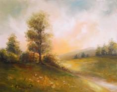 Picturi cu peisaje Asfintit