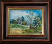 Picturi cu peisaje Miniatura primavara