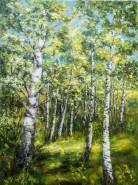 Picturi cu peisaje Poienita de mesteceni
