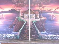 Picturi cu peisaje Apus de soare1