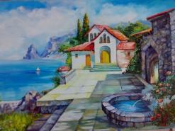 Picturi cu peisaje Colt de rai
