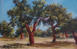 Picturi cu peisaje Alcornoques