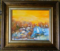 Picturi cu peisaje ''Delta4''