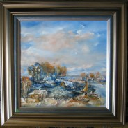 Picturi cu peisaje Delta la murighiol