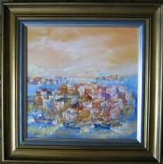 Picturi cu peisaje Grecia insule vara