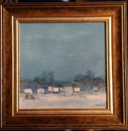 Picturi cu peisaje ''Iarna 1''