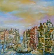 Picturi cu peisaje Panorama venezia