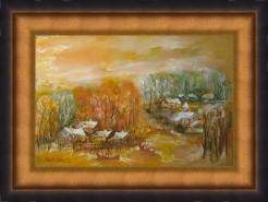 Picturi cu peisaje Peisaj linga sulina