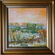 Picturi cu peisaje Vara in delta