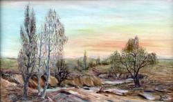Picturi cu peisaje Pe.malul.teleormanului.000
