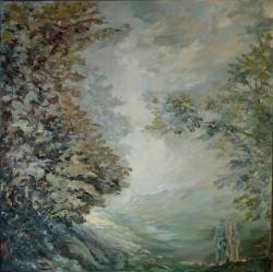 Picturi cu peisaje Perspectiva plein-air