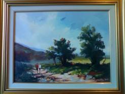 Picturi cu peisaje Peisaj la dragomiresti