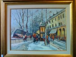 Picturi cu peisaje Peisaj parizian