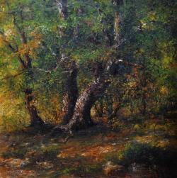 Picturi cu peisaje TREI COPACI
