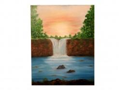 Picturi cu peisaje Cascada 2