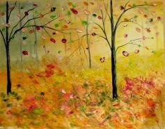 Picturi cu peisaje Codru in culori
