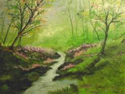 Picturi cu peisaje Codru inverzit
