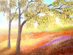 Picturi cu peisaje Culorile campului