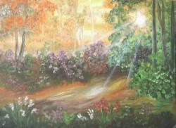 Picturi cu peisaje Culorile verii