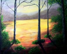 Picturi cu peisaje La marginea codrului