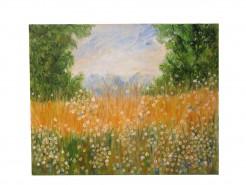 Picturi cu peisaje Lan cu flori