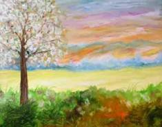 Picturi cu peisaje Primavara 2