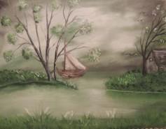 Picturi cu peisaje Ratacit