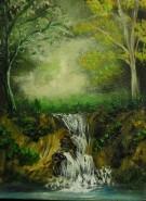 Picturi cu peisaje Zgomot in noapte
