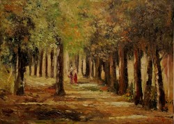 Picturi cu peisaje Peisaj din padure