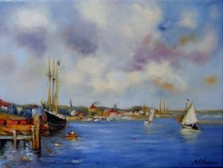 Picturi cu peisaje Peisaj marin 3