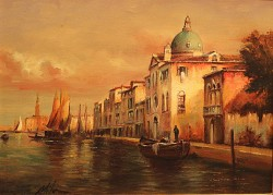 Picturi cu peisaje Venetie