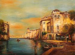 Picturi cu peisaje VENETIE 02
