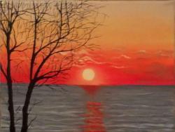 Picturi cu peisaje Apus 001