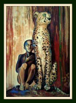 Picturi cu peisaje Africa I
