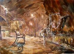 Picturi cu peisaje Melodia serii
