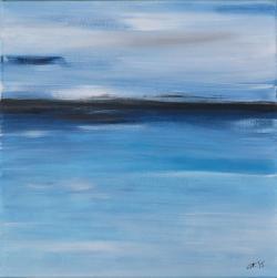 Picturi cu peisaje Dor de mare - IV