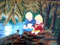 Picturi cu peisaje Fratii