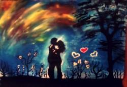 Picturi cu peisaje Puterea dragostei