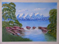 Picturi cu peisaje Contrastul anotimpurilor