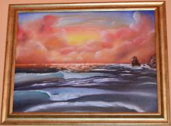 Picturi cu peisaje Cer din basm