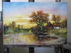 Picturi cu peisaje P. Delta.