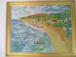Picturi cu peisaje Golful pescarilor