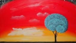 Picturi cu peisaje Alone