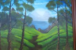 Picturi cu peisaje vesuvius