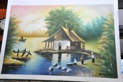 Picturi cu peisaje Delta