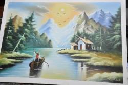 Picturi cu peisaje Montan