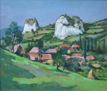 Picturi cu peisaje Ampoita stanci