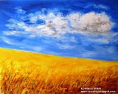 Picturi cu peisaje Roadele verii