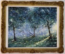 Picturi cu peisaje Luminis in crang
